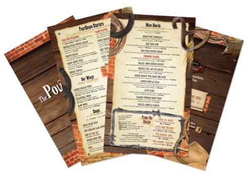 PourHouse Menu